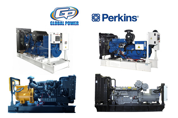 300 KVA 6 Cylinder water cooled diesel generator Set , Electric Start Generator
