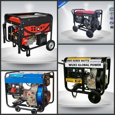 চীন Portable Diesel Generator Set সরবরাহকারী