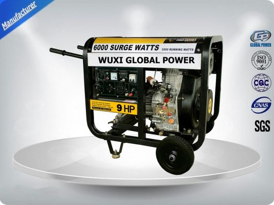 চীন Air Cooled Silent Portable Generator Set 5.5 -6.3 Kva Open Type With Manual  Starter সরবরাহকারী