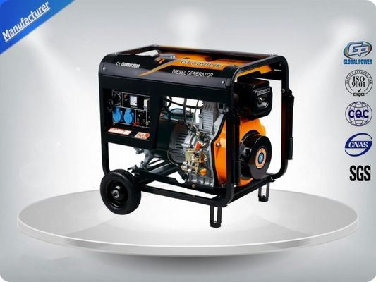 চীন 72 dB Genset Silent Generator Set 5.0 KVA , 2 Pole Single Phase Generator সরবরাহকারী