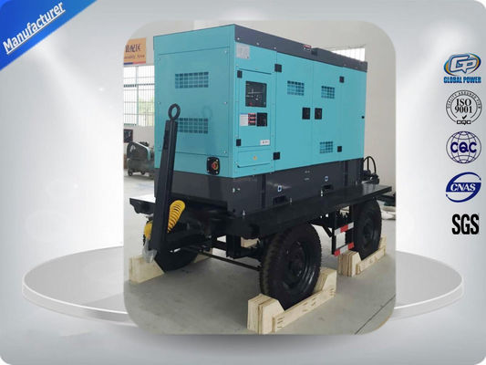 চীন Water Cooled 50kw / 62.5kva Portable Diesel Generator With Cold Sheet Silent Canopy সরবরাহকারী