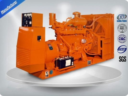 চীন Brushless 3 Phase Gas Generator Set 4 Lines High Efficiency With Electric Starting পরিবেশক