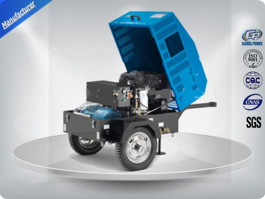 চীন 22Kw / 30Hp Portable Electric Air Compressor With Ac Output Power /  Direct Drive Screw পরিবেশক