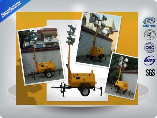 চীন Trailer Mounted Light Towers কারখানা