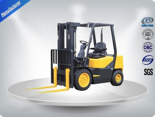 চীন 3.0 Ton AC Motor Yellow Electric Forklift Truck Hire With Isuzu C240 Engine পরিবেশক