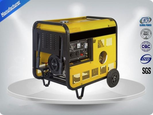 চীন High Efficiency Single Phase Genset Portable Generator Sets Powered By 7.5kva পরিবেশক
