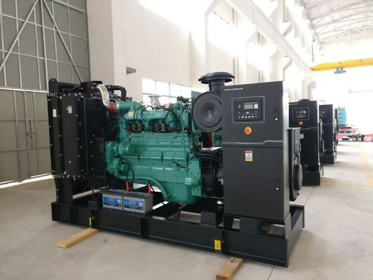 চীন 250kva Open Type Natural Gas Generator Set With Original Cummins Engine , Stamford Alternator কারখানা