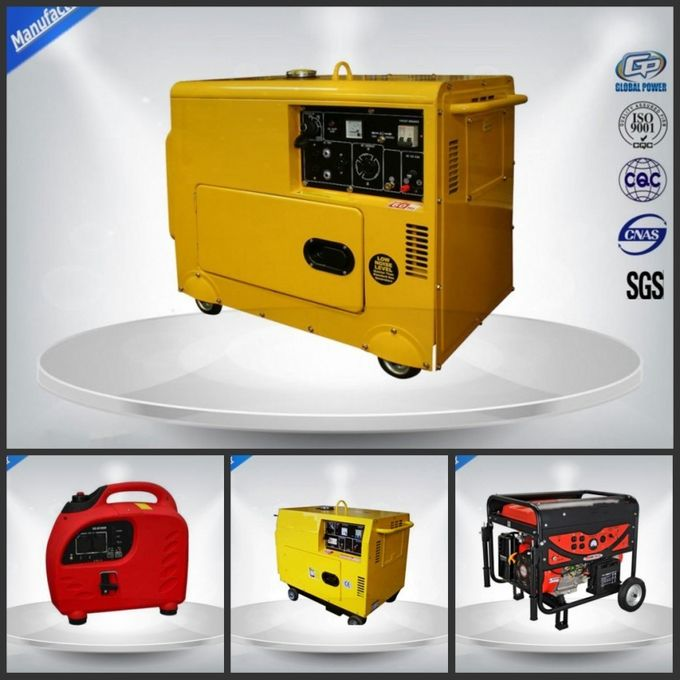 Residential Electric Start Portable Generator Direct Injection Self - Excitation