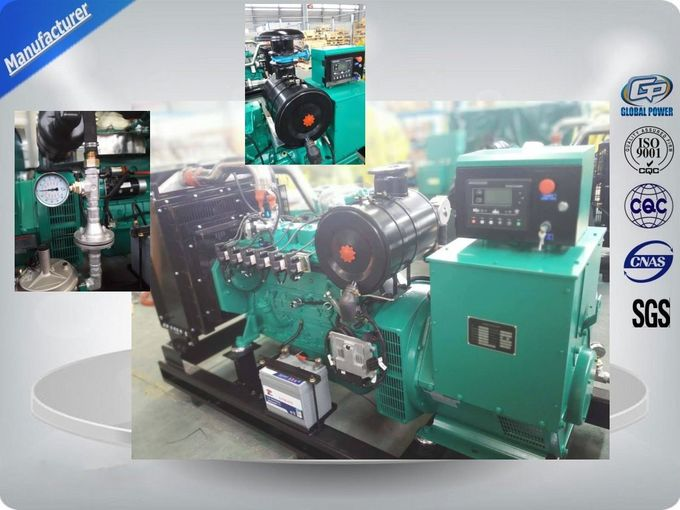250kva Open Type Natural Gas Generator Set With Original Cummins Engine , Stamford Alternator